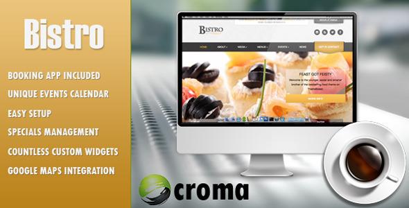 Bistro v1.1 – Responsive Food & Restaurant HTML5 Template
