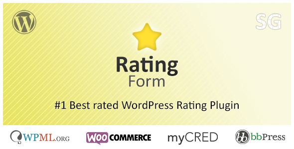 Rating Form v1.5.2 – Premium WordPress Rating Plugin