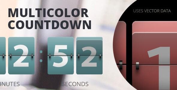 Download – Resizable Multicolor Countdown JavaScript Plugin