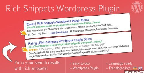 Download – Rich Snippets v1.6.2 WordPress SEO Plugin