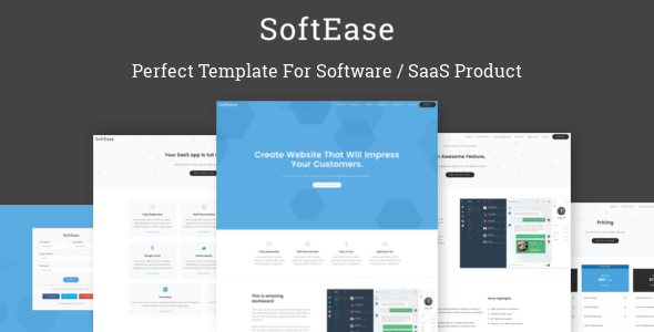 SoftEase v1.0 – Multipurpose Software / SaaS Product Template