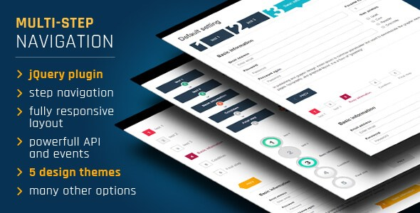 Download – Step Form Wizard v2.3 – JavaScript Forms Files