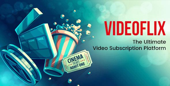 Videoflix v1.2 – Tv Series Movie Subscription Portal CMS