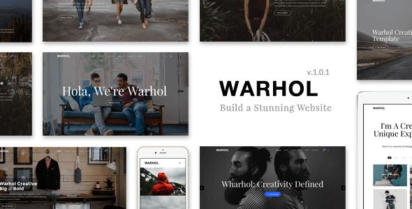 Warhol v1.0.1 – Creative Multi-Purpose HTML5 Template