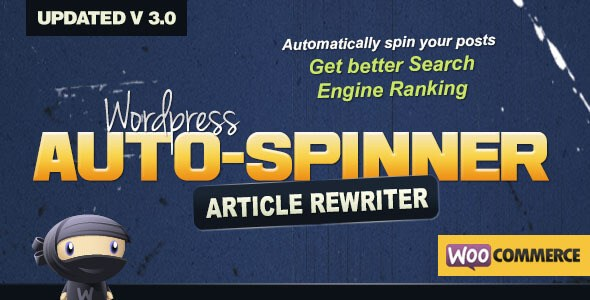 WordPress Auto Spinner v3.2.2 – Articles Rewriter WP Plugin